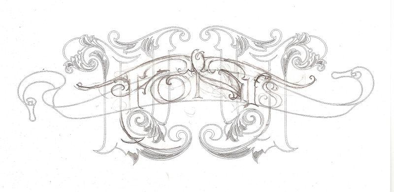 Font sketch 1