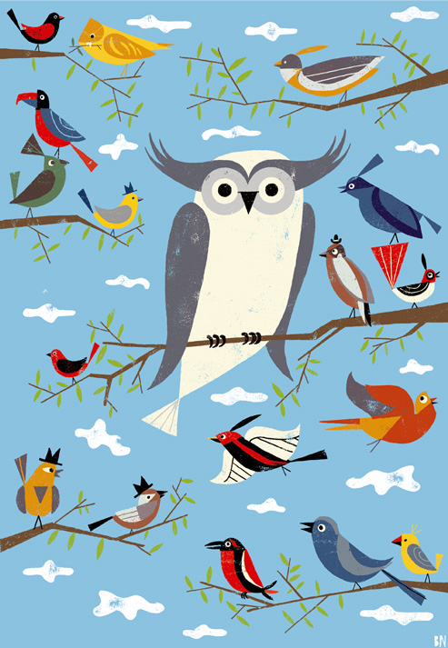 _Charley-and-the-birds-print