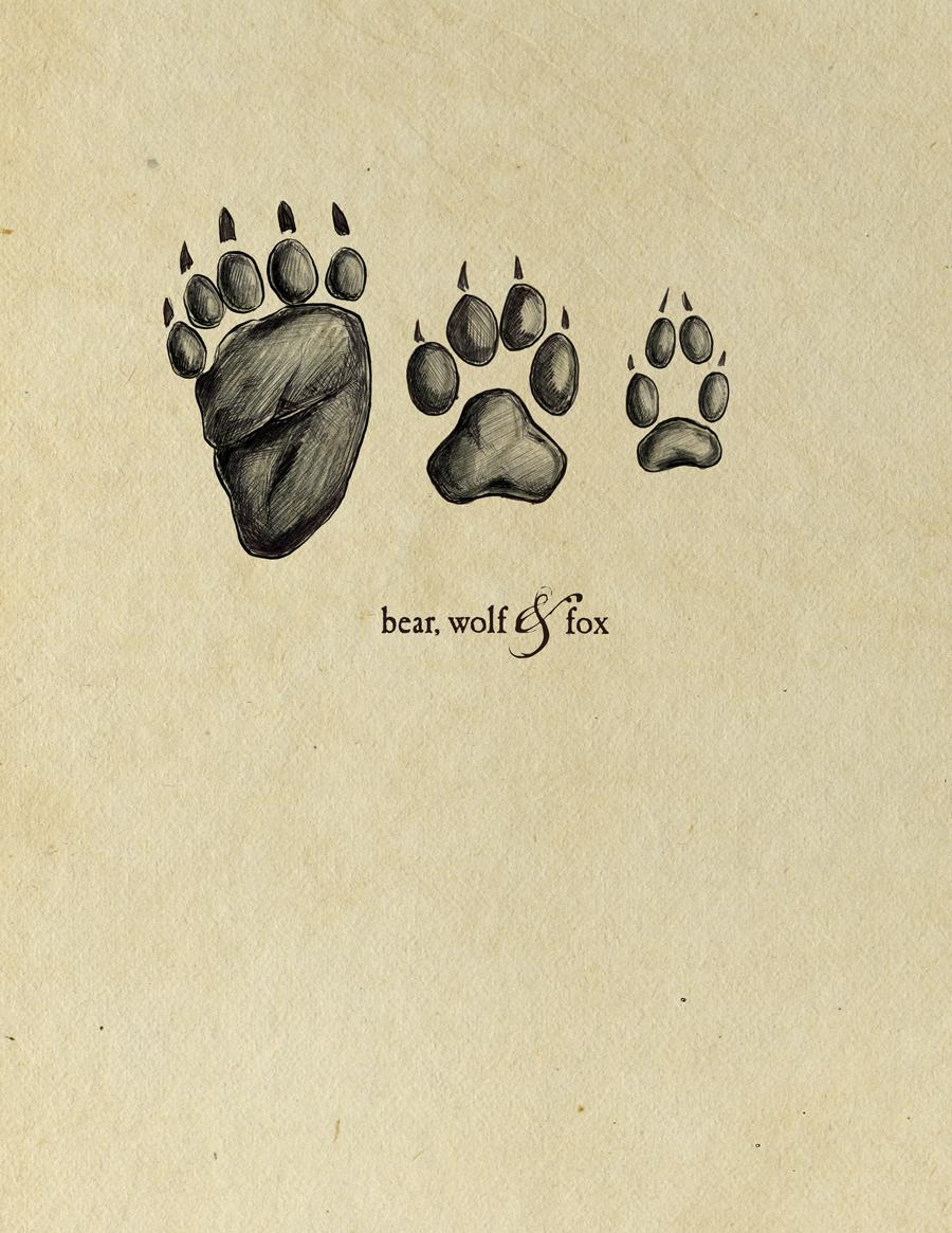 Bear-wolf-and-fox