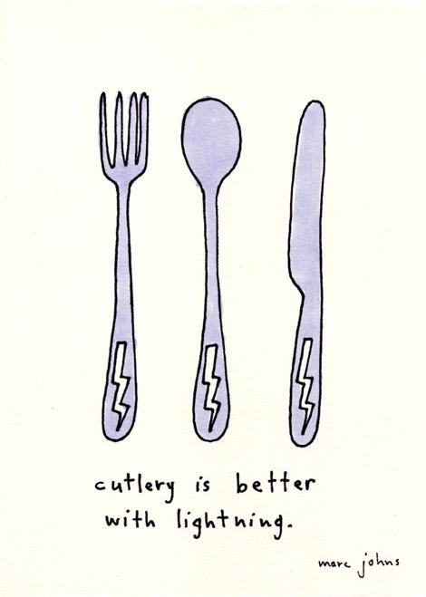 Cutlery-lightning