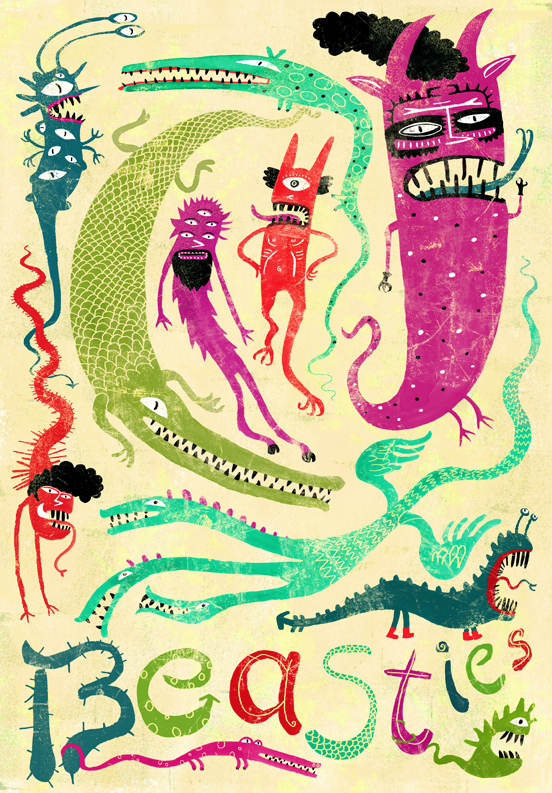 Beasties-illustration