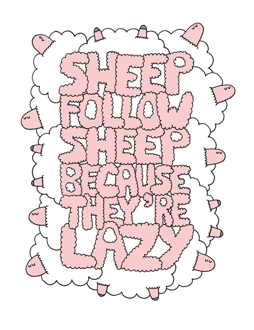 Sheep-follow