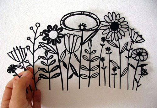 21Apapercut-flowers