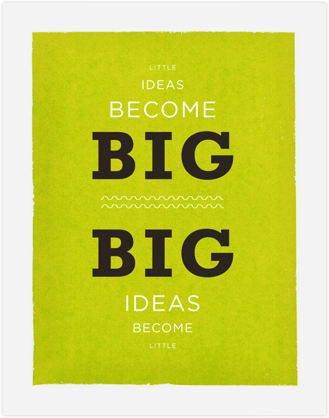 Big-little-ideas