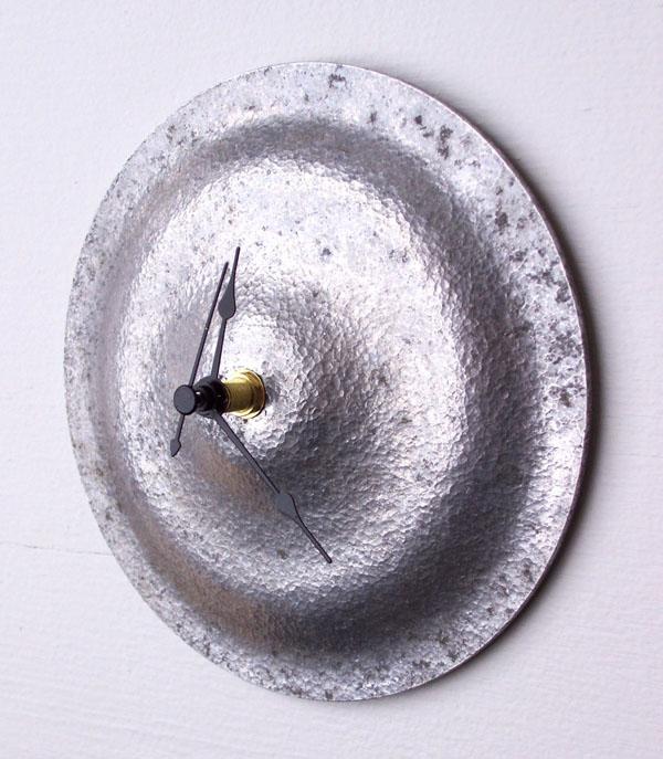 Pot-lid-clock