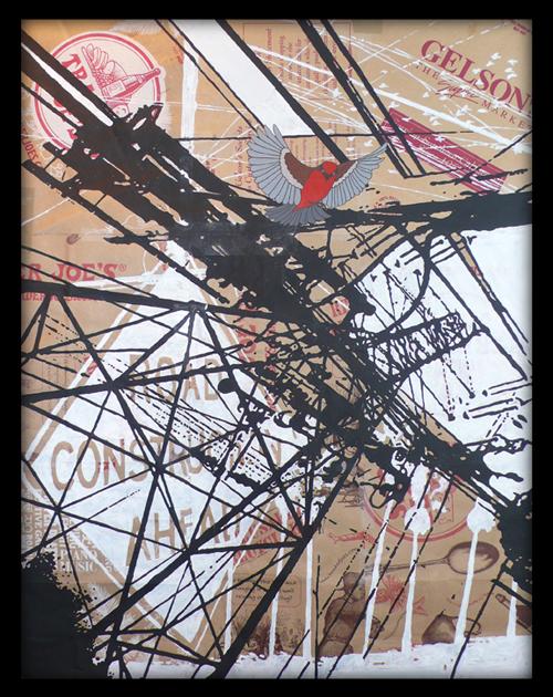 Redbird.framed