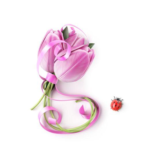 TulipsLadybug